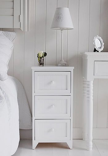 The White Lighthouse Specialises In White Furniture For The Home. White  Bedside Table And Cabinet For Your White Bedroom.