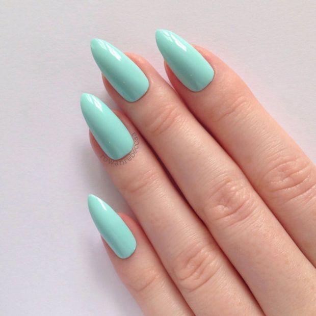 mint stiletto nails nail designs nail art nails stiletto nails acrylic nails pointy nails. Black Bedroom Furniture Sets. Home Design Ideas