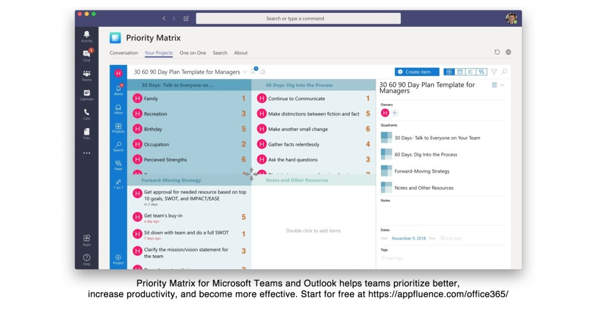 Appfluence Launches Free Email And Project Management Solution For Microsoft Teams And Microsoft Outlook Microsoft Outlook Free Email Management