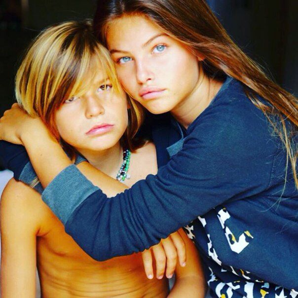 Thylane Blondeau And Her Adorable Little Brother Aryton