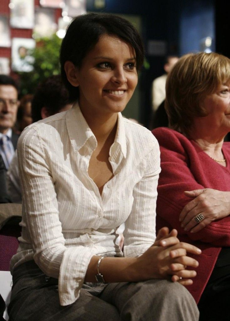 la franco marocaine najat belkacem nomm e ministre des droits de la femme et porte parole du. Black Bedroom Furniture Sets. Home Design Ideas