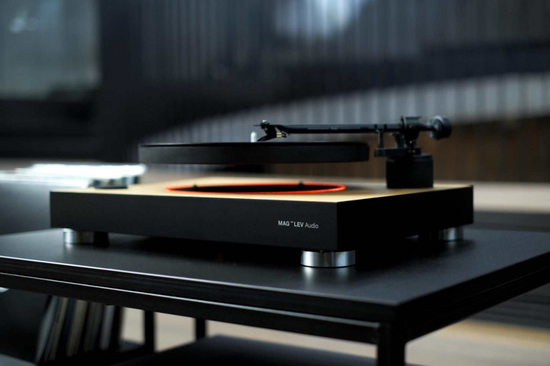 Zero-gravity record player raises around $500,000 on Kickstarter. The levitating turntable will be slated for an August 2017 shipping date.