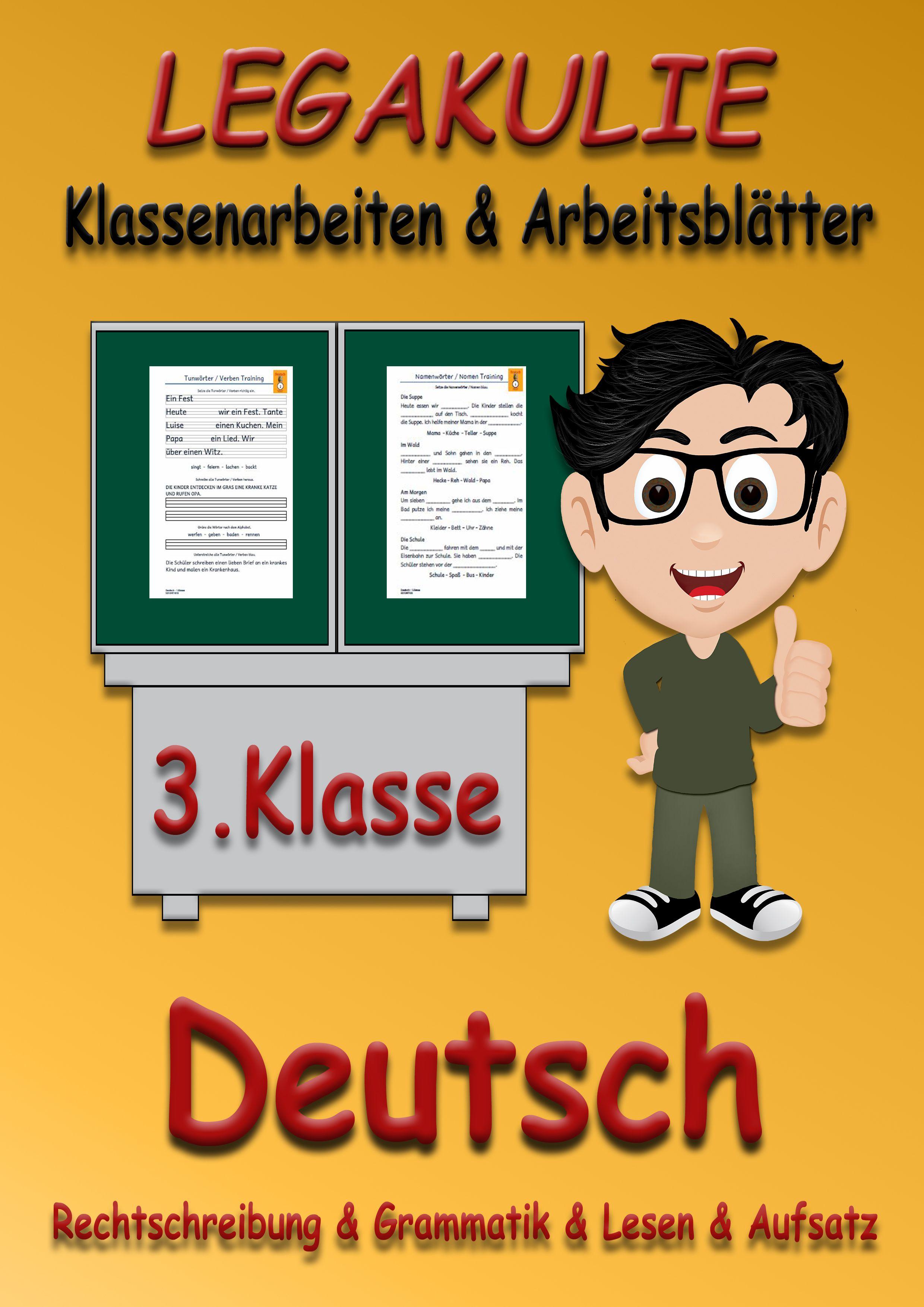 Deutsch #Klassenarbeit #Arbeitsblatt #PDF Arbeitsblätter und Übungen ...