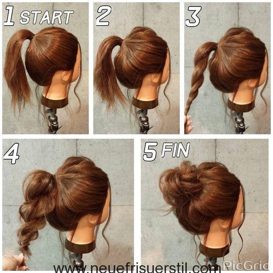 Schön Frisuren Frauen Einfach