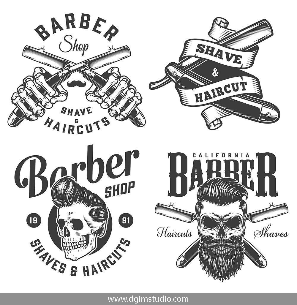 41 Vintage Barbershop Designs Barbershop Design Barber Shop Identity Design Logo