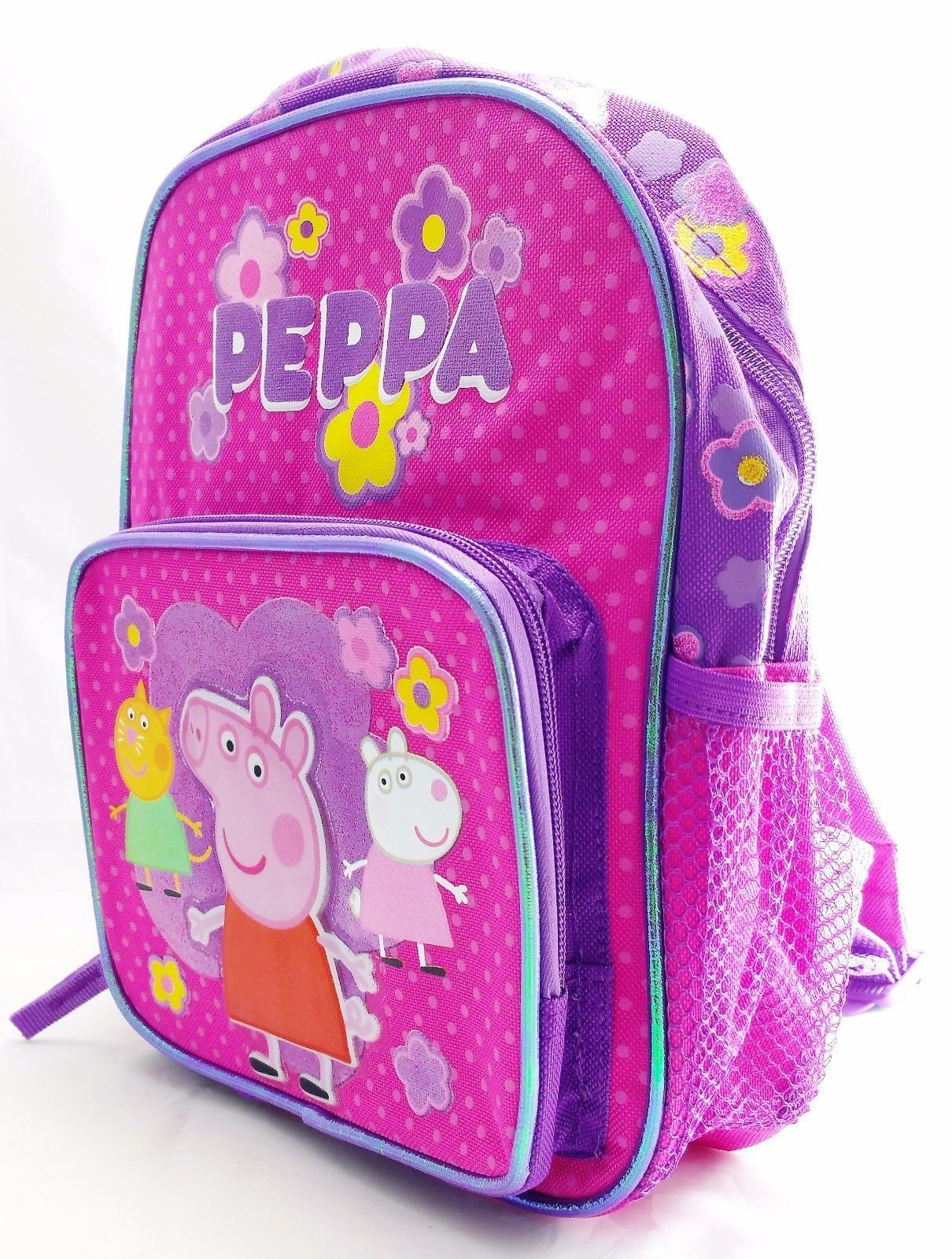 Superb Mini Backpack Peppa Pig Pink W Friends 10 Girls Bag Onthecornerstone Fun Painted Chair Ideas Images Onthecornerstoneorg