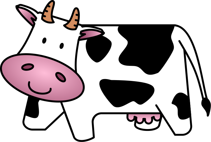 cow clip art free cartoon clipart panda free clipart images rh pinterest com free cow clipart black and white free cow clip art black and white