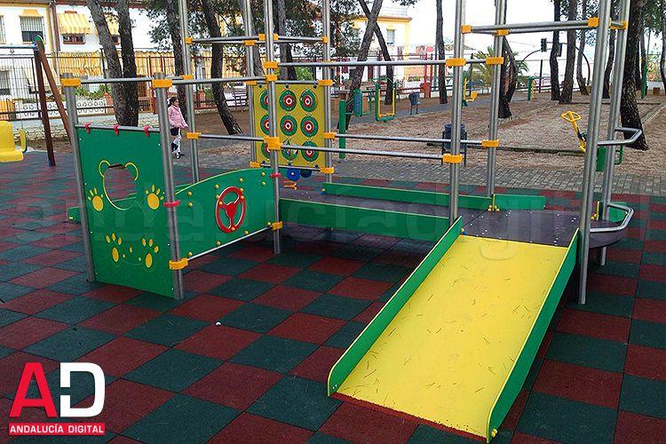 La Rambla Cuenta Desde Hace Unos Dias Con El Primer Parque Infantil