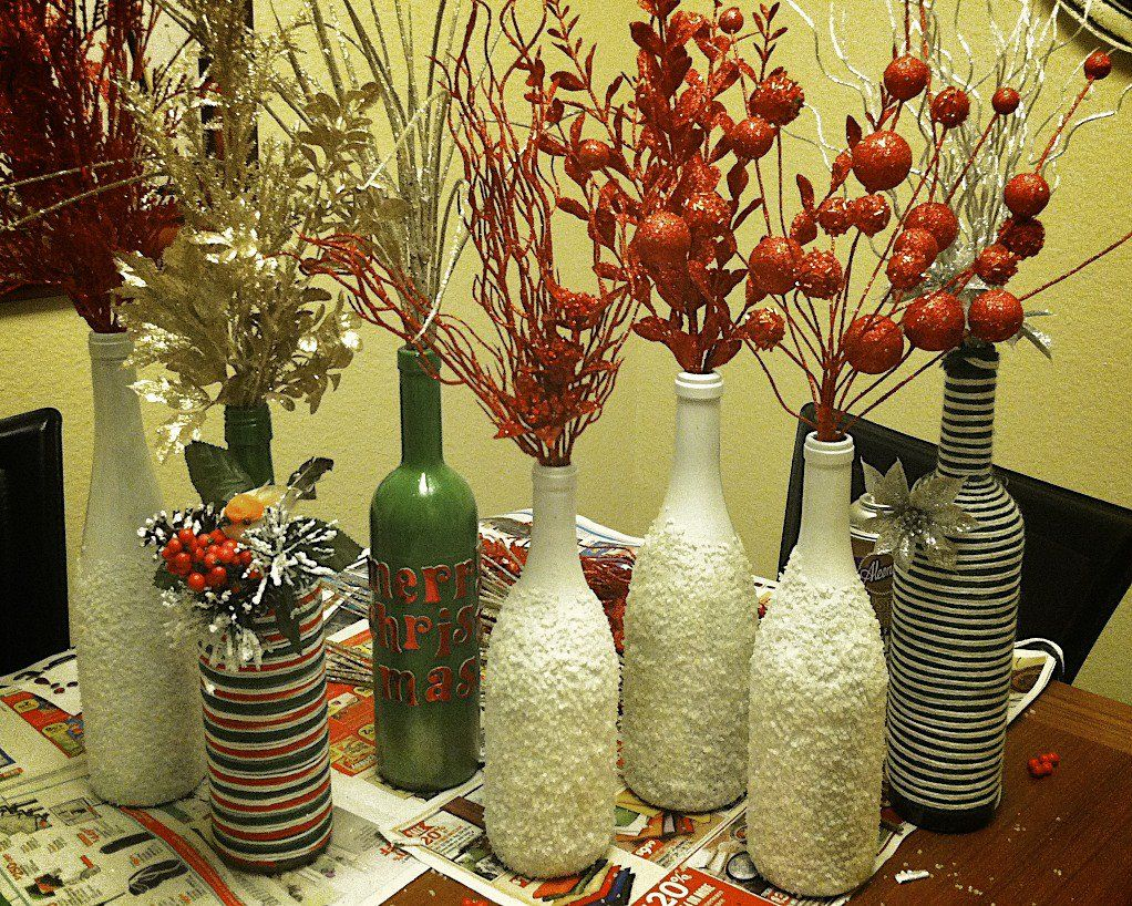 Top magnificent ways to reuse wine bottles for home