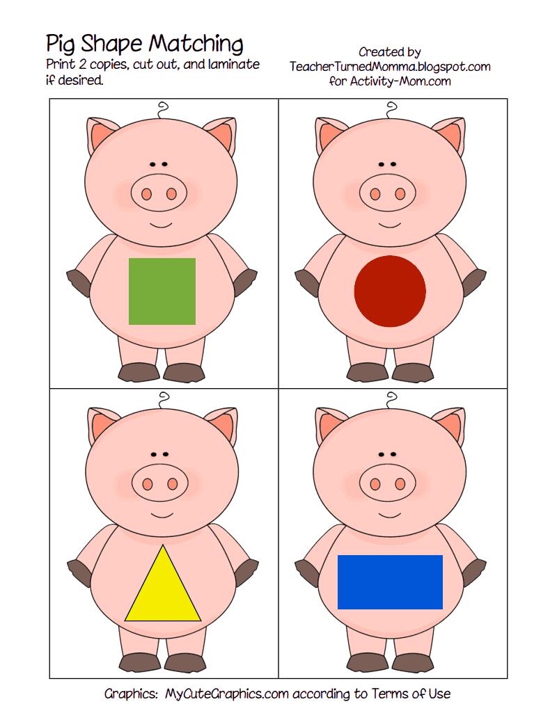 Pig shape matching pdf google drive
