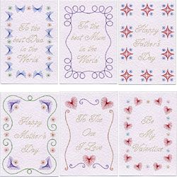 Stitching Cards Value Pack No. 15: Borders