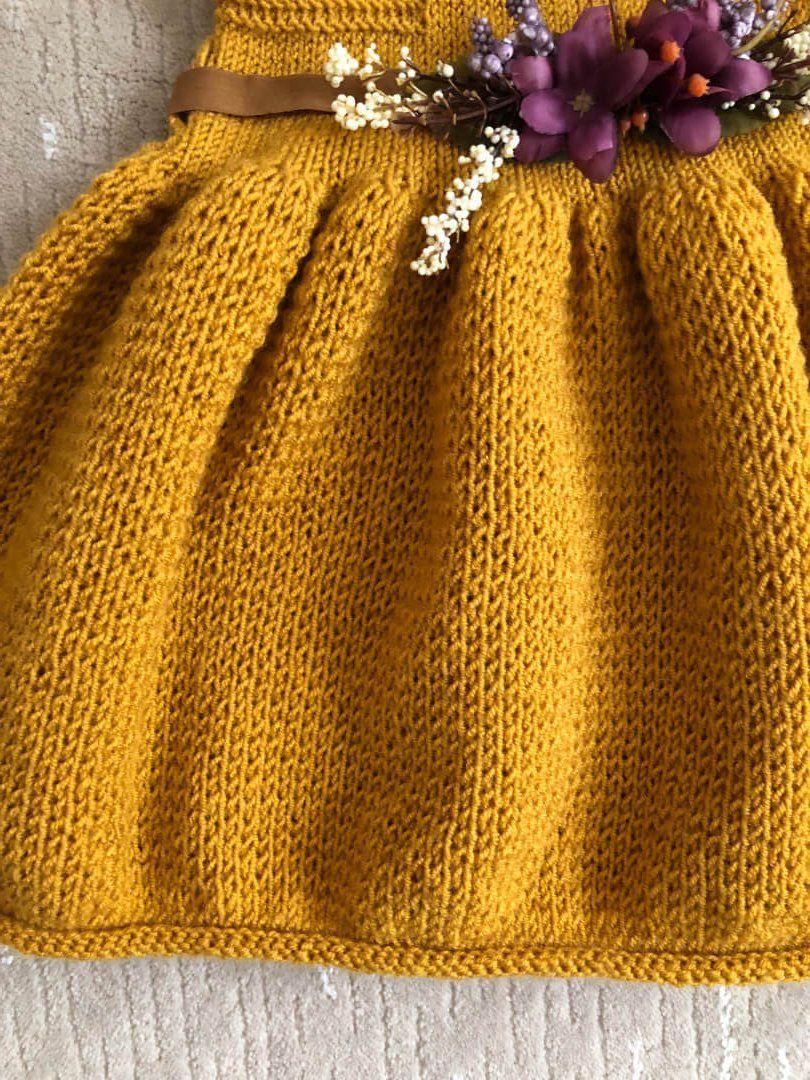 ec91bffbeb0c6 Çok Basit Balon Etekli Elbise Tarifi - Örgü Modelleri | giyim