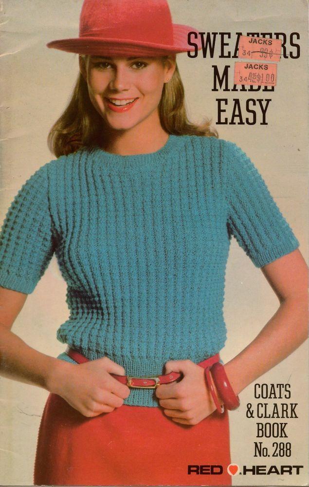 Vtg Knitting Crochet Patterns Sweater Set Cardigan Aran Fair Isle ...