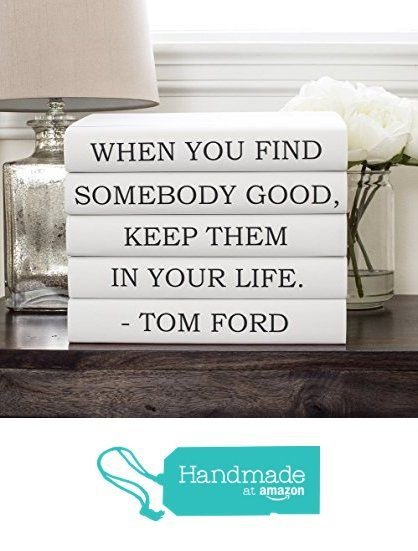 Tom ford quote books designer quote quote books decorative books tom ford quote books designer quote quote books decorative books black books anniversary gift wedding centerpiece bookworm gift for friend junglespirit Choice Image