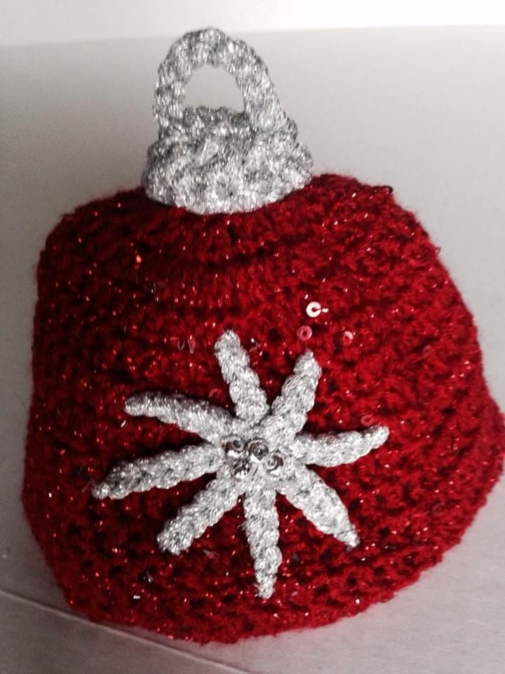 Ornament crochet Hat $ 20.00  Can be made in any color combination or size Hat made by Dots of Love Creations dotsoflovecreations@gmail.com