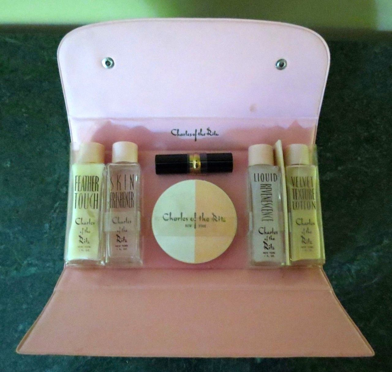 Charles Of The Ritz Traveler Kit Charles Of The Ritz Vintage Cosmetics Makeup Set