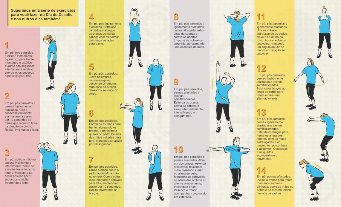 Preferência exercicios de alongamento 5 | Exercise | Pinterest | Exercises SP87