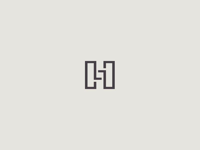 Letter H Lettering Letter H Design Logo Design