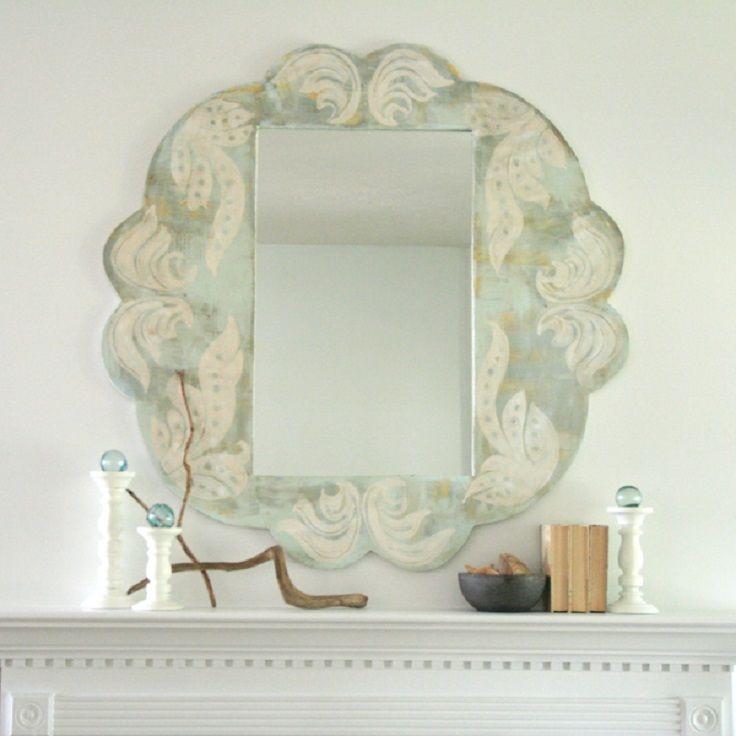 Top 10 DIY Mirror Frames | Proyectos de arte, Diy espejo y Bricolaje