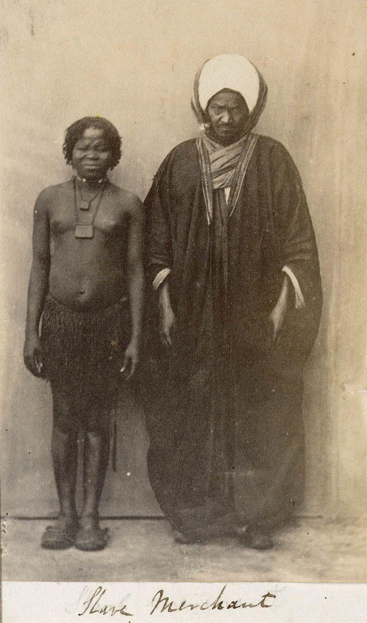 Slave Merchant Cairo C 1865 National Maritime Museum