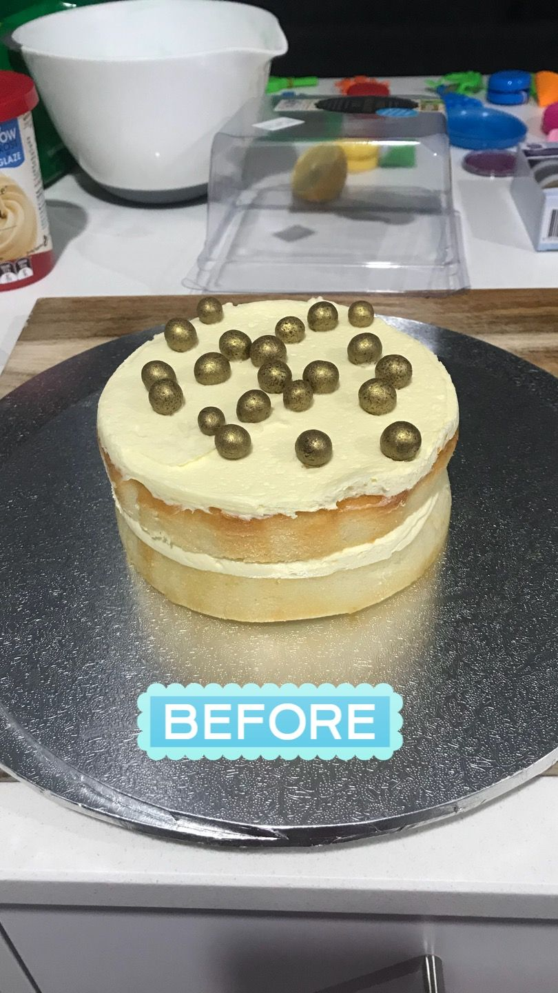 m and m cake woolworths
