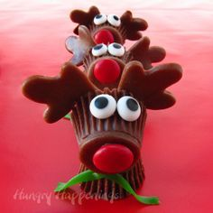 peanut butter cup trees - Google Search | Cookies | Pinterest ...