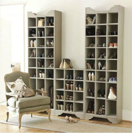 Soluciones para almacenar zapatos zapatos guarda - Muebles para zapatos ...