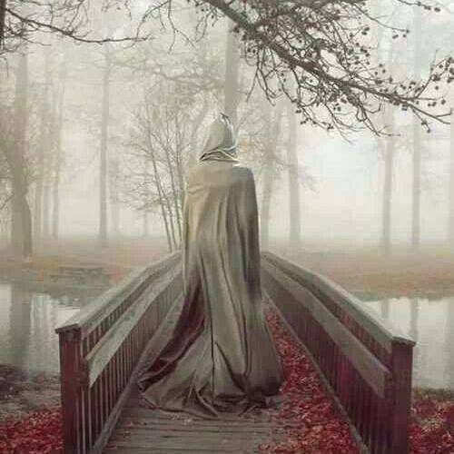 The lonely bridge
