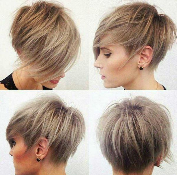 Blonde Edgy Pixie Cut Hair Short Hair Styles Hair Hair Styles