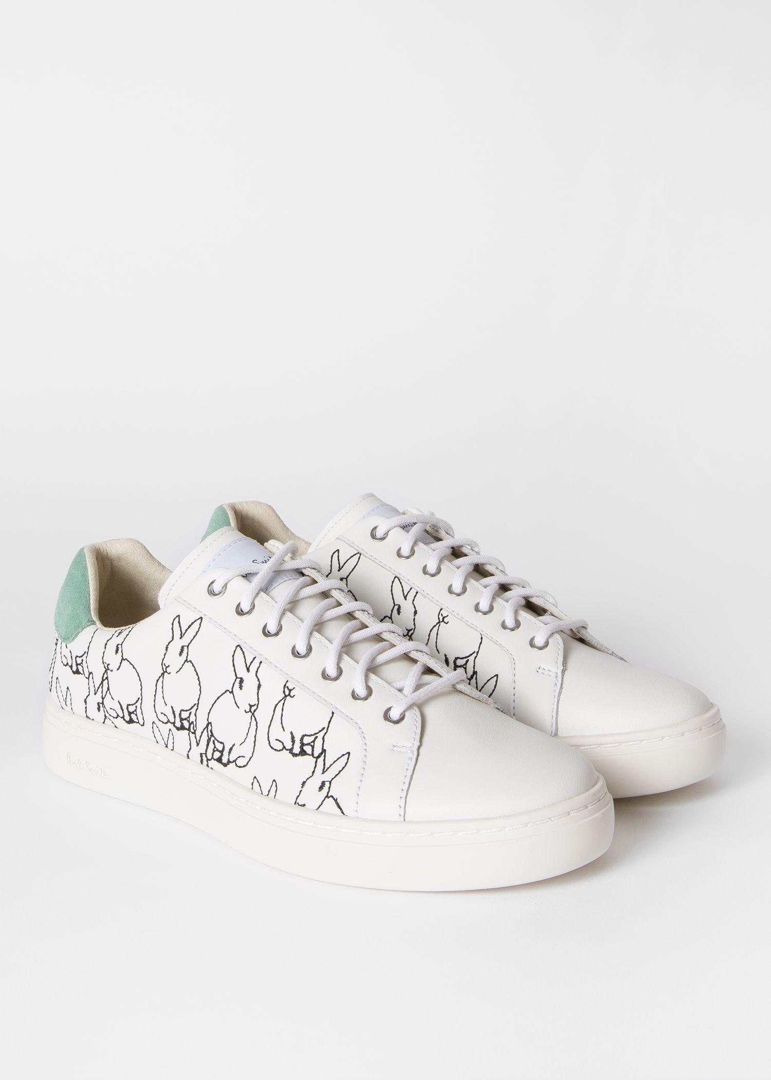 Green suede heel, Sneakers, Leather