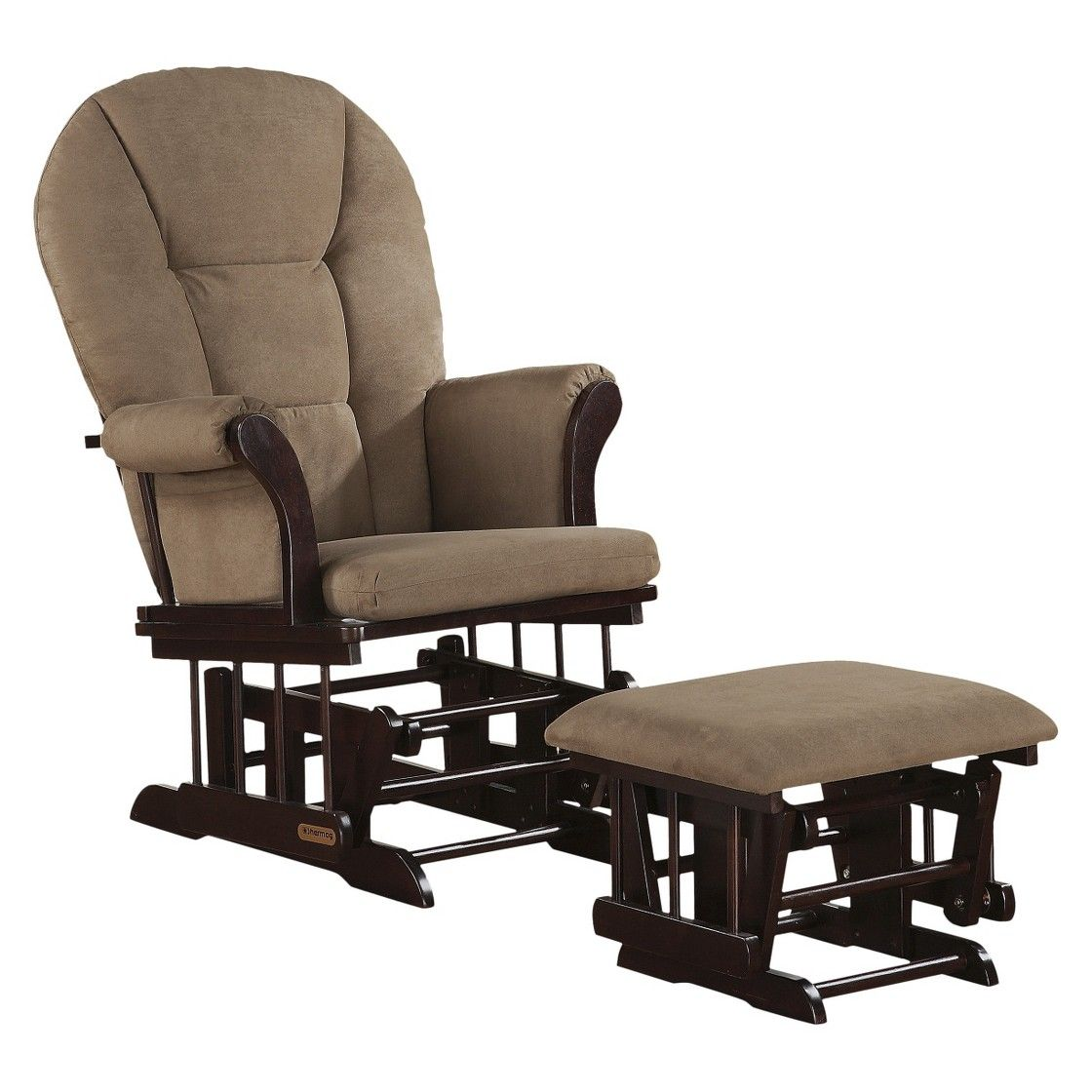 shermag glider rocker and ottoman combo glider on Shermag Glider Chair id=26645