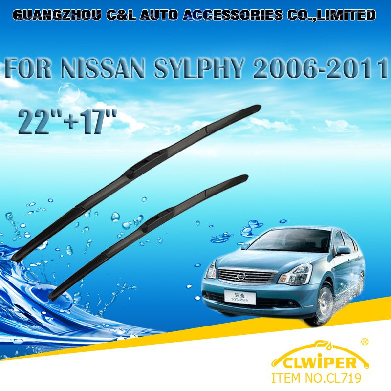 Wiper Blades For Nissan Sylphy 2006 2011 2007 2008 2009 2010 22
