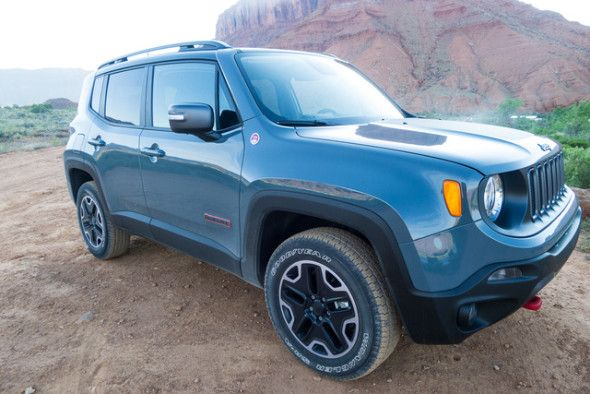 It S A Real Jeep Our 2015 Jeep Renegade Trailhawk Impressions
