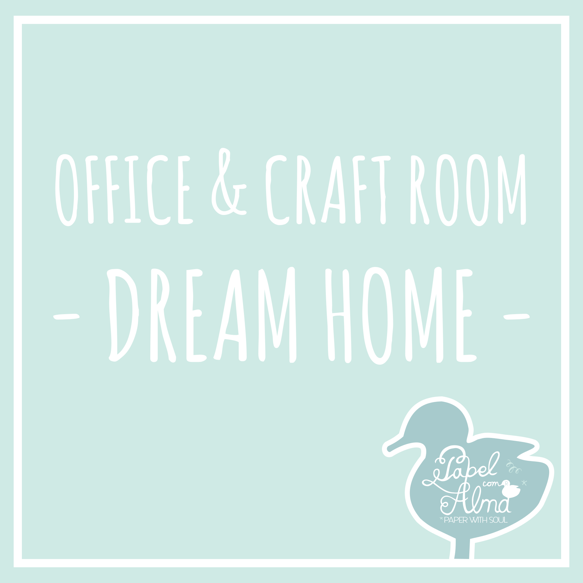Office & Craft Room Pinterest Board By Papel