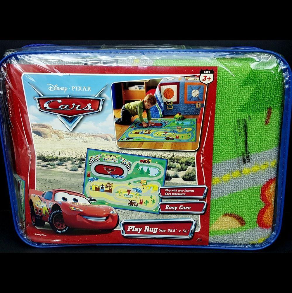 New Disney Pixar Cars Movie Play Rug Racetrack Mat 39x52 Bedroom Decor Sealed Gentmenian Classic Disney Movies Movies Playing Disney Christopher Robin