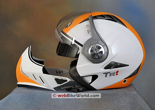 Airoh Tr1 Motorcycle Helmet Removable Chin Guard And