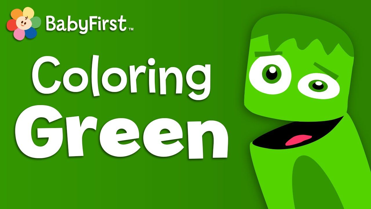 Leaves, Grass and Frogs | Green | Learn the Colors | Color Crew ...