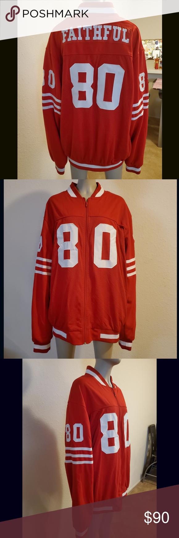 San Francisco 49ers Faithful Jersey Jacket Jersey jacket