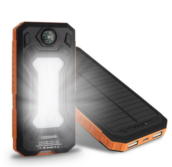 Solar Power Bank | Portable solar power, Solar charger
