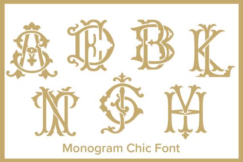 Monogram Font Embroidery Monogram Fonts Vintage Monogram Monogram Fonts