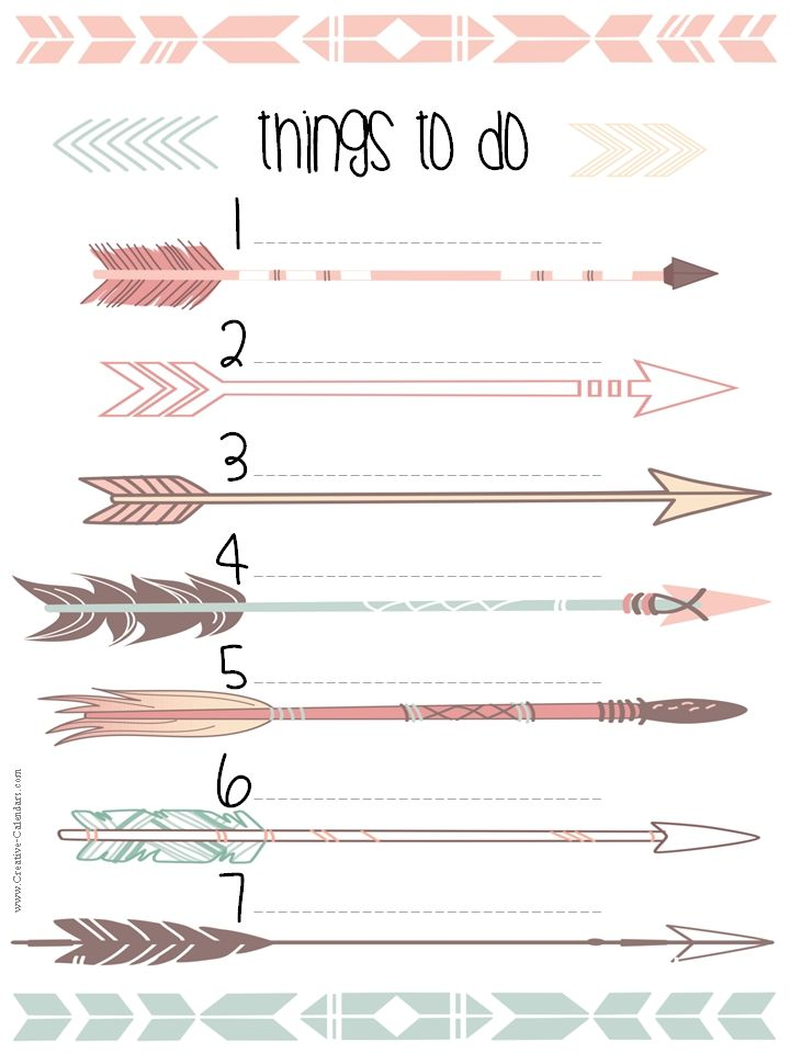 To Do List Template  Learning    Diy Ideas