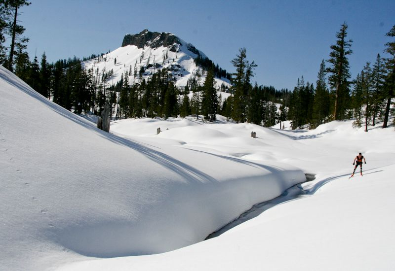 Cross country skiing and snowshoeing at Lake Tahoe brings you closer to Mother Nature. Get out and make some memories.