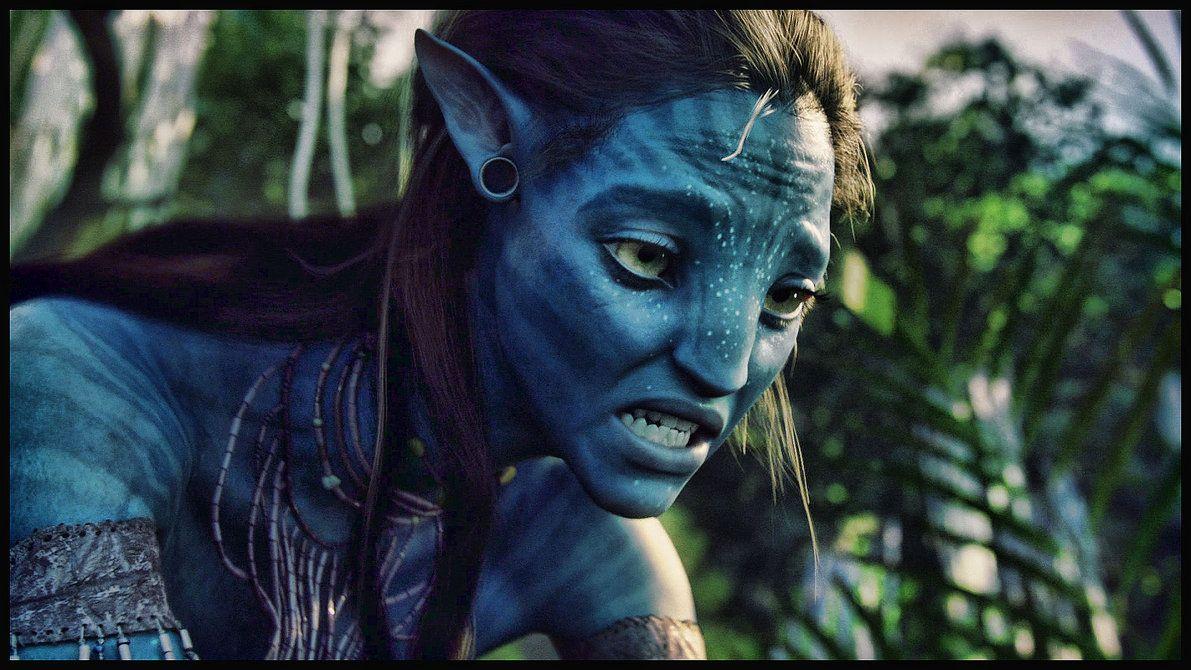Avatar Neytiri Edit By Prowlerfromaf On Deviantart Avatar Poster Avatar Avatar Movie