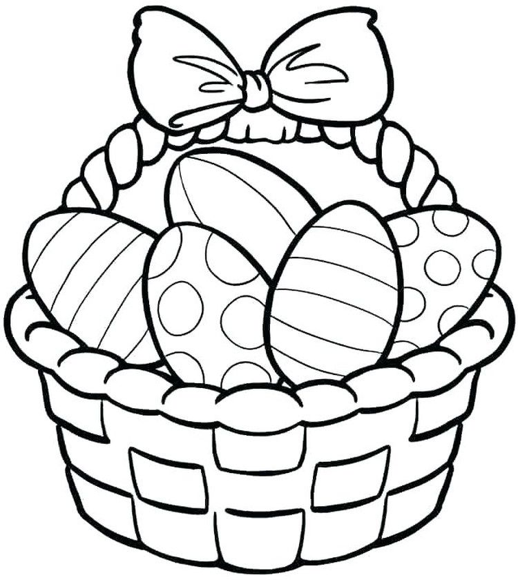 Printable Easter Egg Coloring Pages Free Easter Coloring Pages