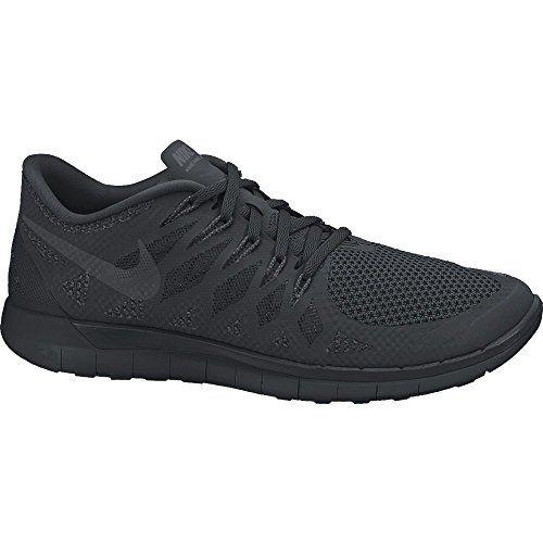 Nike Men's Free 5.0 BlackAnthraciteBlack Running Shoe 11.5
