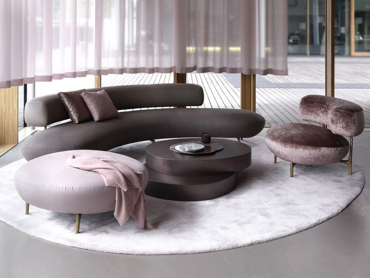 Wondrous Image Result For Milano 2017 Curved Sofa Salon Curved Onthecornerstone Fun Painted Chair Ideas Images Onthecornerstoneorg
