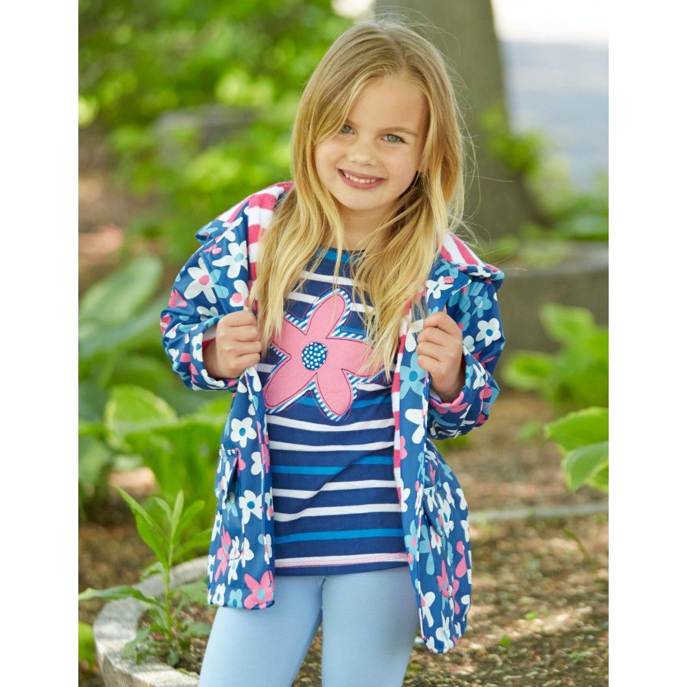 eddd3969788 Hatley Raincoat with Summer Garden Print