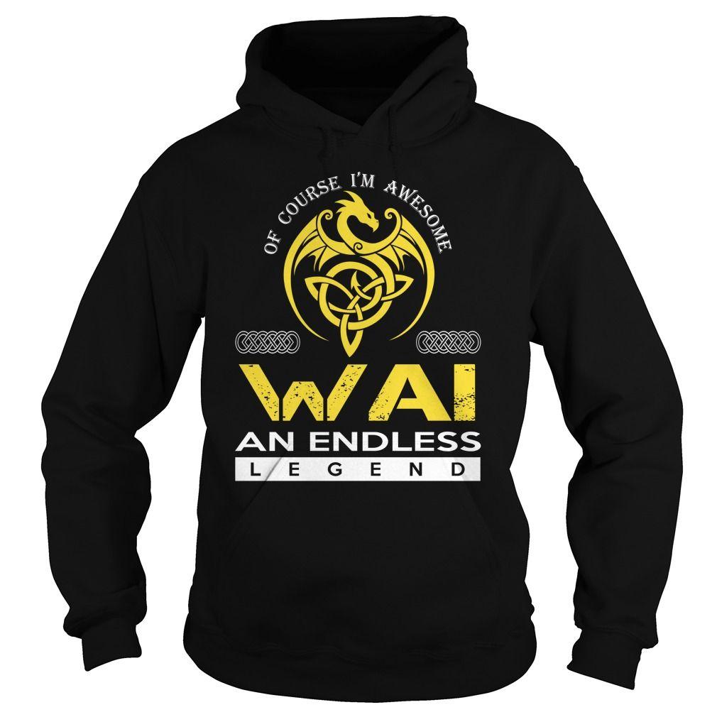 WAI An Endless Legend (Dragon) - Last Name, Surname T-Shirt