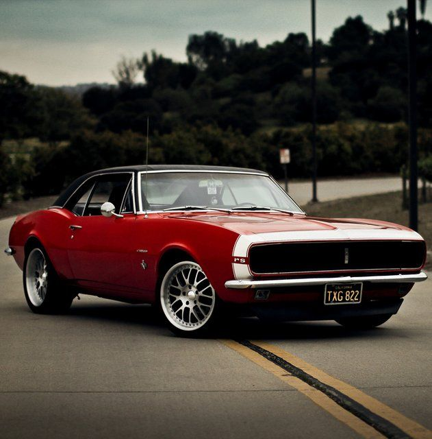 1967 Chevy Camaro Muscle Car Muscle Cars Estadounidenses Ruedas De Coche