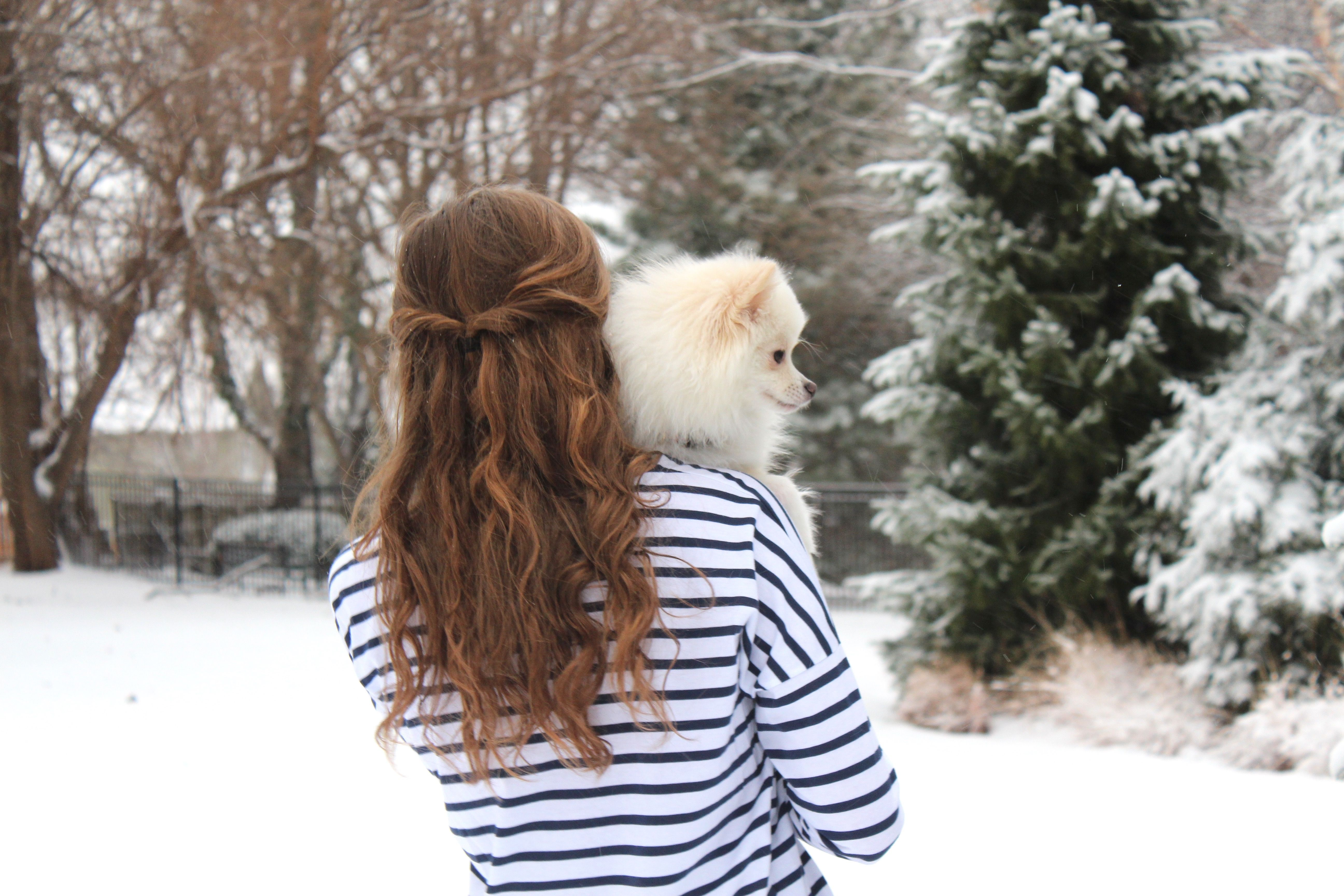 Walkin' in a Winter Wonderland   OOTD on Daily Dose of Charm by Lauren Lindmark